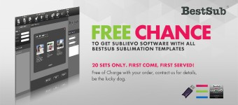 Free Chance to Get Sublievo Software with all BestSub Sublimation Templates