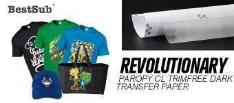 Revolutionary Paropy CL TrimFree Dark Transfer Paper from BestSub