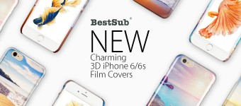 Charming 3D iPhone 6/6s Film Covers from BestSub
