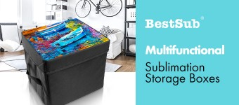 Multifunctional Sublimation Storage Boxes from BestSub