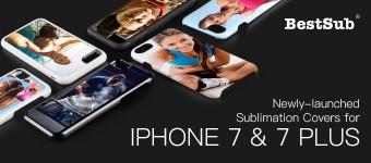 Newly-launched Sublimation Covers for iPhone 7 & 7 Plus from BestSub