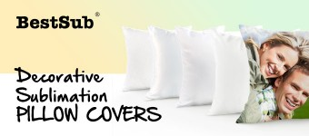 Decorative Sublimation Pillow Covers from BestSub
