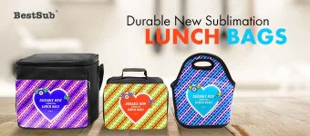 Durable New Sublimation Lunch Bags from BestSub