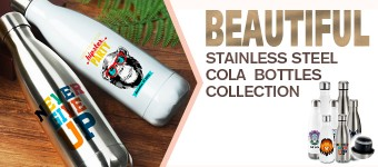Beautiful Stainless Steel Cola Bottles from BestSub