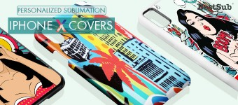 New Sublimation iPhone X Covers from BestSub