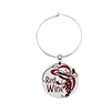 28mm Wine Glass Charm