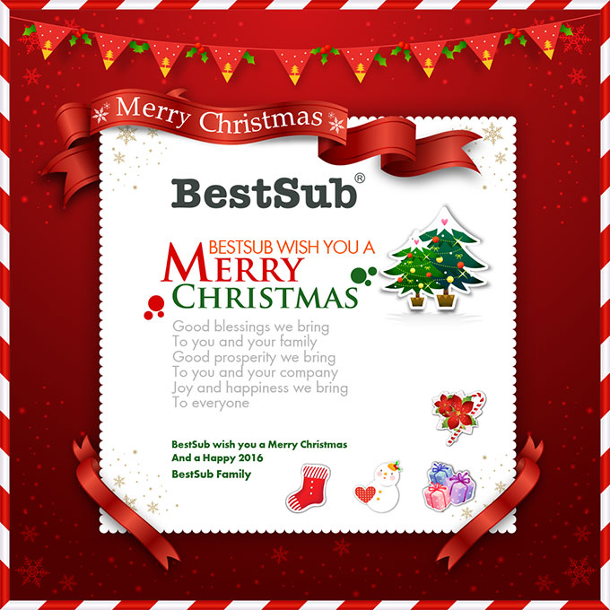 BestSub Wish You a Merry Christmas