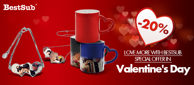 Love More with BestSub Special Offer in Valentine's Day