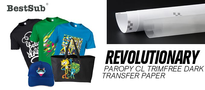 Revolutionary Paropy Cl Trimfree Dark Transfer Paper From