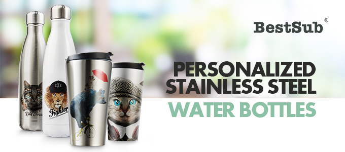 Personalized Stainless Steel Water Bottles from BestSub