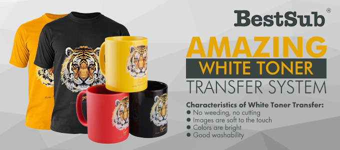 Amazing White Toner Transfer System from BestSub