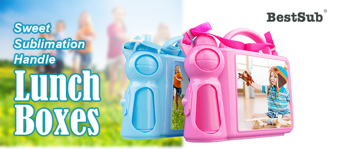 Sweet Sublimation Handle Lunch Boxes from BestSub