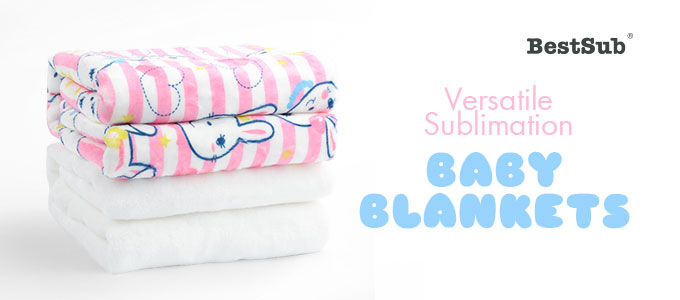 Versatile Sublimation Baby Blankets from BestSub