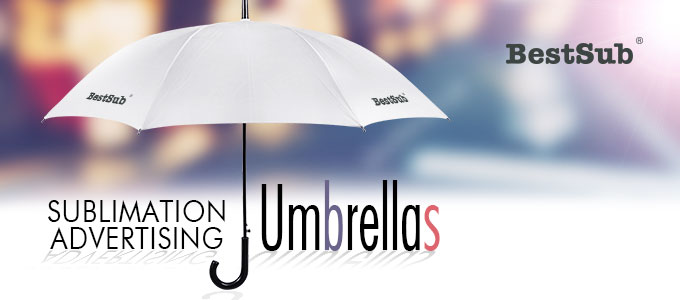 Sublimation Advertising Umbrellas from BestSub