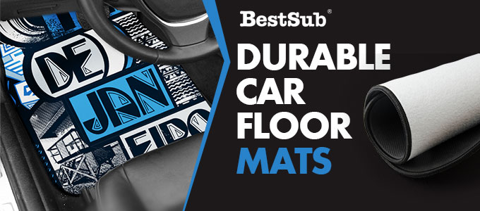 Durable Car Floor Mats from BestSub