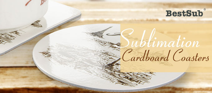 Sublimation Cardboard Coasters from BestSub