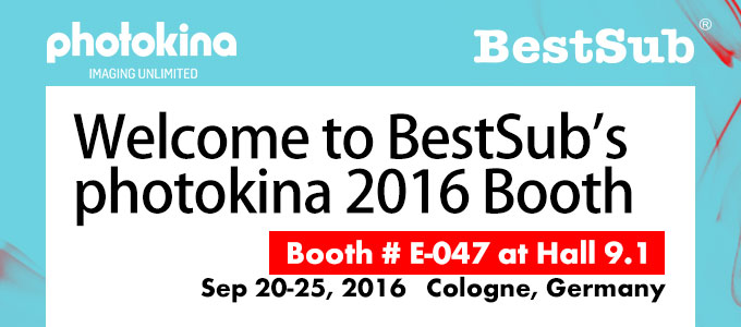 Welcome to BestSub's photokina 2016 Booth