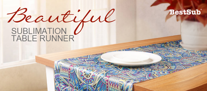 Beautiful Sublimation Table Runner from BestSub