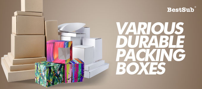 Various Durable Packing Boxes from BestSub
