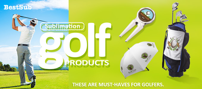 Sublimation Golf Products from BestSub
