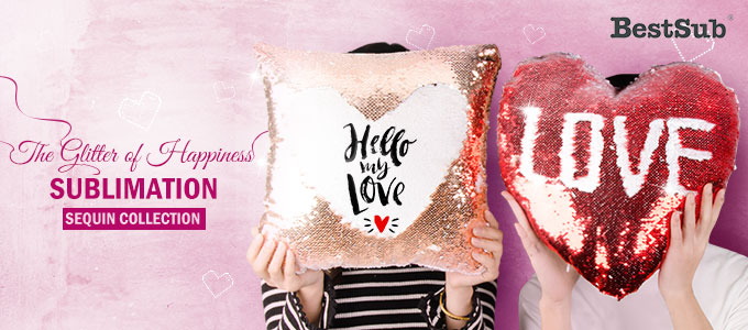 The Glitter of Happiness - Sublimation Sequin Collection from BestSub