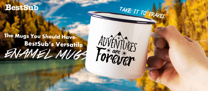 The Mugs You Should Have—BestSub's Versatile Enamel Mugs