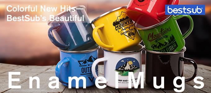 Colorful New Hits—BestSub's Beautiful Enamel Mugs