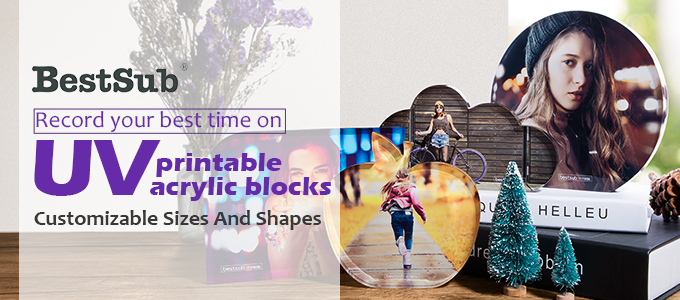 Record Your Best Time on UV Printable Acrylic Blocks