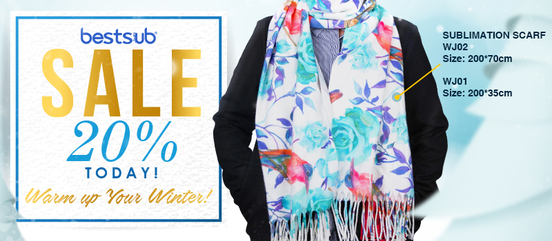 Save 20% TODAY! Warm up Your Winter