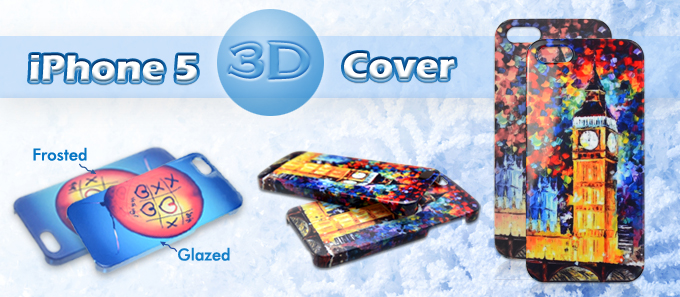 3D iPhone 5 Cover from BestSub