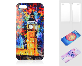 3D iPhone5 Cover(Glazed)