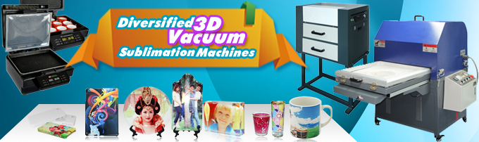 Three Different Types of 3D Vacuum Sublimation Machines from BestSub