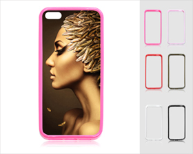 Color iPhone 5 Frame (Rubber)
