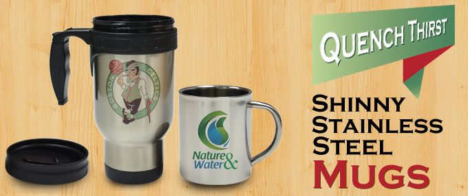 Stainless Steel Mug Sublimation Shinny Stainless Steel Mugs