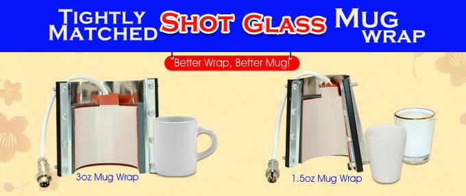 Tightly Matched Shot Glass Mug Wrap From Bestsub Bestsub