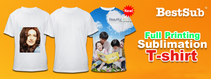 Lead the fashion with full printing t shirt from bestsub for Full t shirt printing