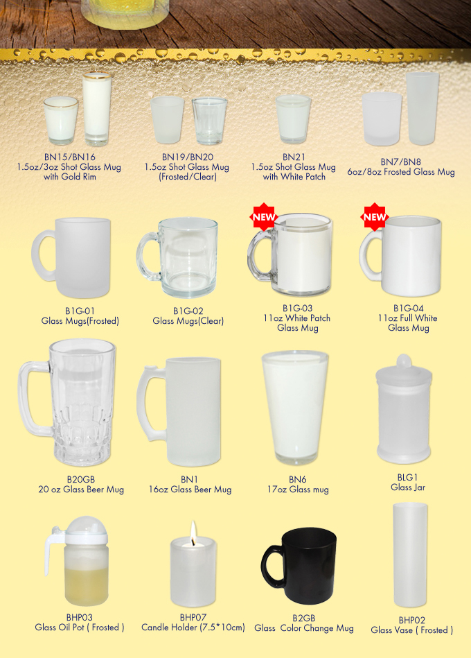 Glass Mugs and Gifts
