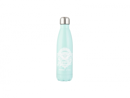 17oz/500ml UV Stainless Steel Coka Shaped Bottle(Mint Green)