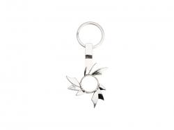 Fidget Spinner Key Ring (Hot Wheel, Silver)