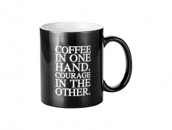 11oz Engraving Color Changing Mug (Coffee Motto)