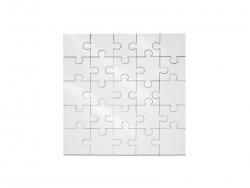 25 Pieces Sublimation Square Shape MDF Puzzle