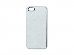Чехол IP5K01 iPhone cover rubber белый (iPhone 5 резина)