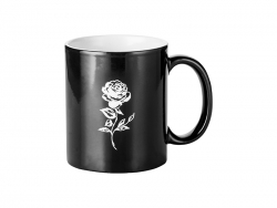 11oz Engraving Color Changing Mug (Rose)