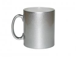 10oz Silver Sparkling Mug