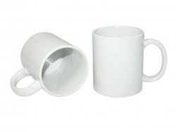 11oz White Photo Mug (JS)Dishwasher Safe