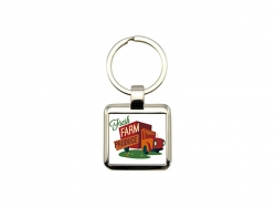 UV Printing Metal Key Chain(Square)