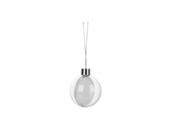 Hanging Plastic Ball Ornament (φ8.5cm)