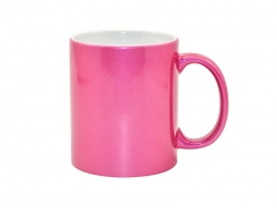 11oz Sparkling Mug(Purple Red)