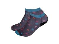 Sublimation Adult Ankle No Show Socks (9*19cm)