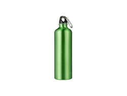 750ml Aluminum Water Bottle - Green
